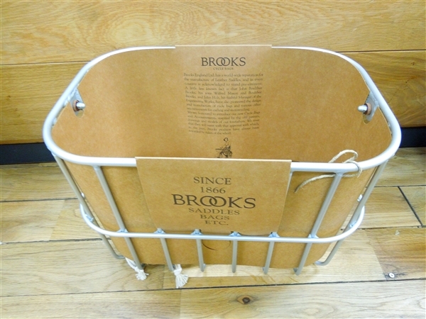 BROOKS HOXTON wire basket ブルックス