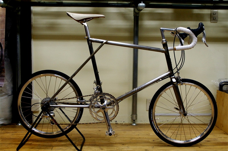 E.B.S Float451ROAD / RAW FINISH & CAMPAGNOLO