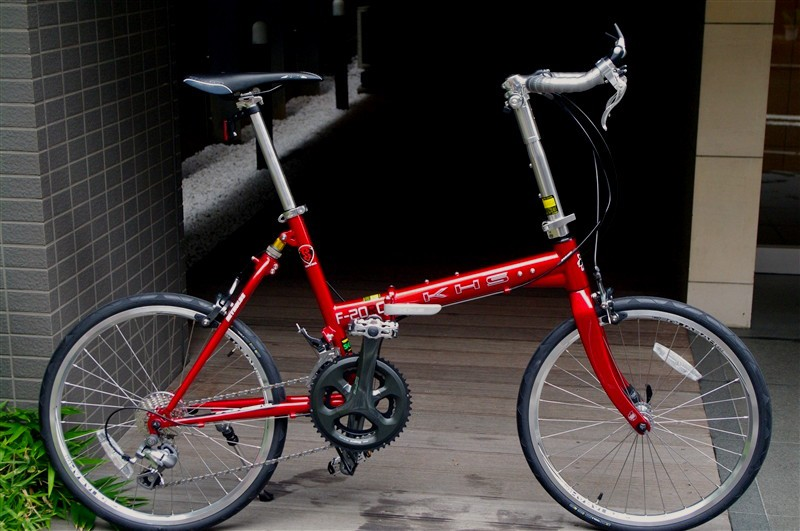 khs F-20RC candyred