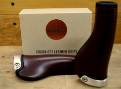 BROOKS / ERGON GP1 LEATHER GRIPS
