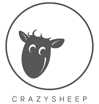 CRAZYSHEEP Corriedale / Charcoal bullhone&on the road carrier