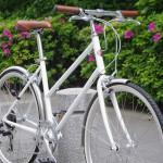tokyobike BISOU / White Flatbar custom