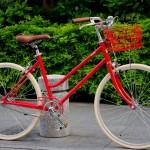 tokyobike Lite / JEFFER RED + Basket