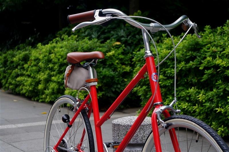 tokyobike / BISOU 26 JEFFER RED + BROOKS SADDLE BAG