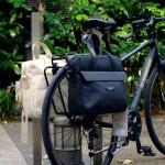 BROOKS BAGS / Lexington Briefcase on REAR CARRIER