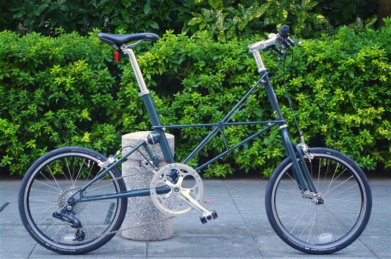 ALEXMOULTON TSR-9 FX/ Rare color Granite blue