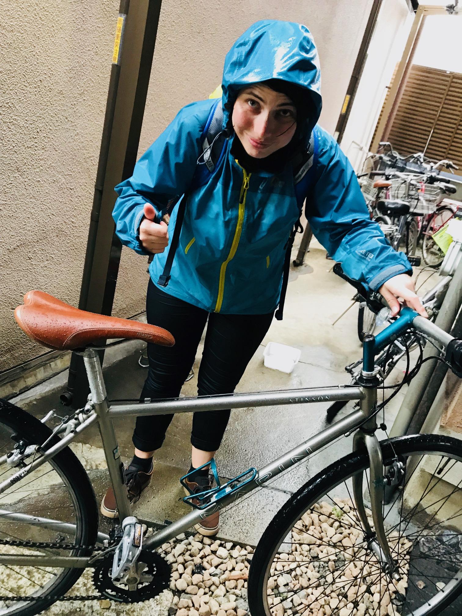 自転車で東京案内するよ。