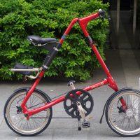 イギリスブランドの折畳自転車STRIDA