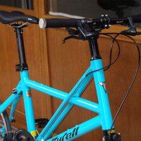 tyrellの折畳自転車FX