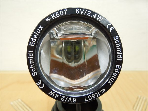 Schmidts Original / Head Lamp Edelux Crome ダイナモライト