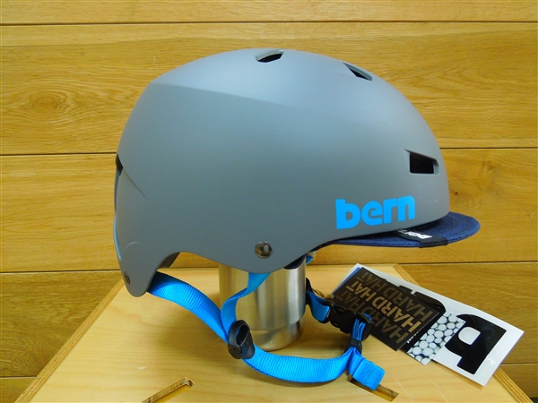 bern HELMET / MACON VISOR Matt Grey