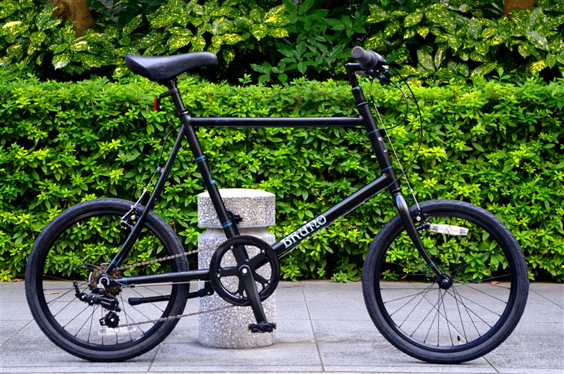 BRUNO 2015 NEW / Minivelo 20 Flat Matte Black Limited