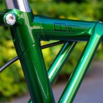 E.B.S Float451single green hubdynamo