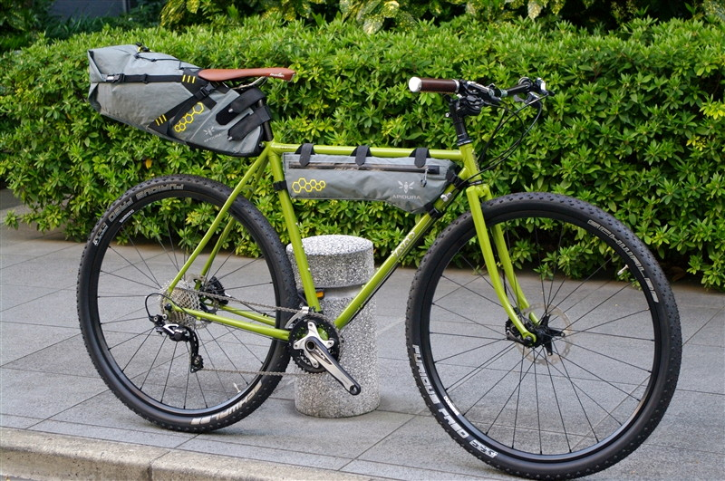 E.B.S PIKE / APIDURA BIKE PACKING