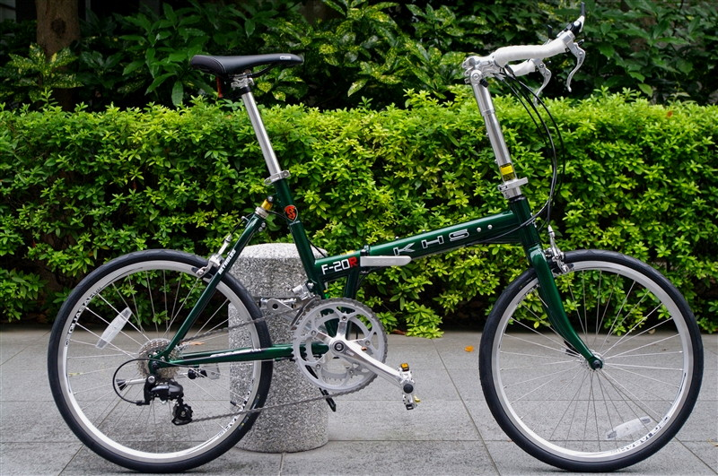 "KHS / F-20R MS GREEN  ""TEST RIDE""  試乗車入荷"