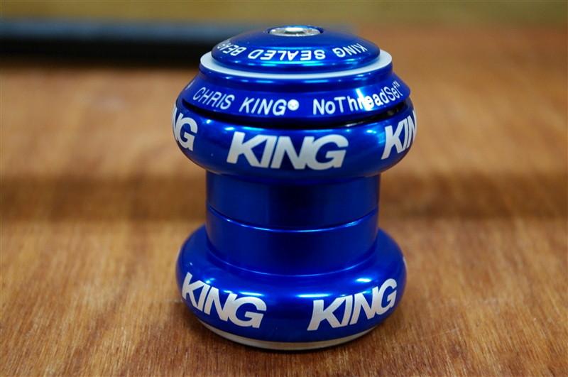 CHRIS KING /  HEADSET BLUE