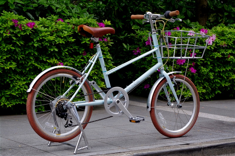 BRUNO 2016 / Mixte Flate Ocean Blue + Original STAND