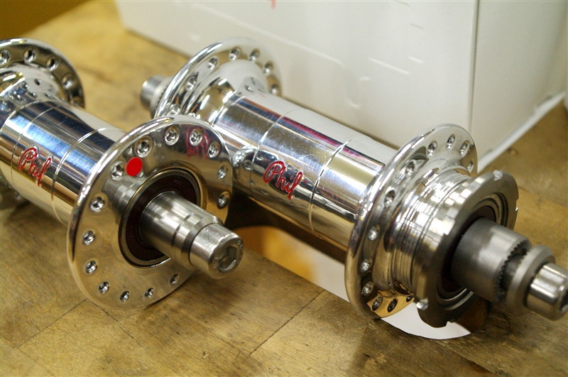 Phil Wood / Low flange track hub