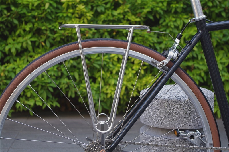 retro classic Velo Orange Grand Cru Alloy Mudguard Mount Rear Bicycle Reflector