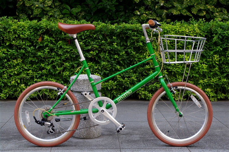 BRUNO MIXTE 2017 / GREEN + FRONTBASKET