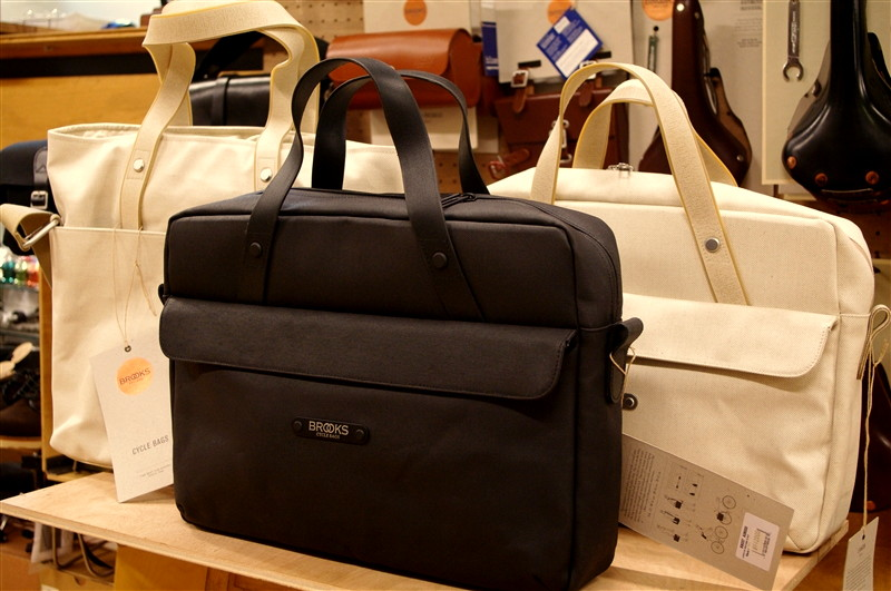 BROOKS BAGS / Lexington Briefcase & Mercer Tote