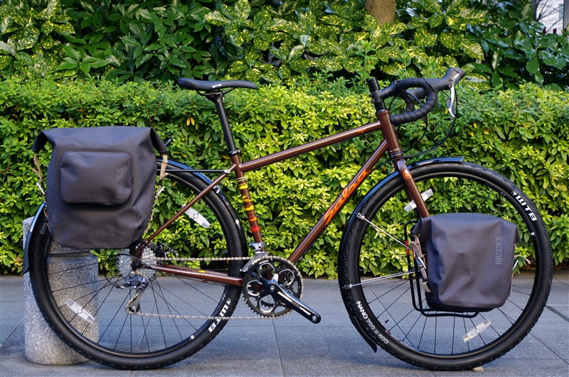 SALSA CYCLES / VAYA CARRIERE&MUDGUARD装着