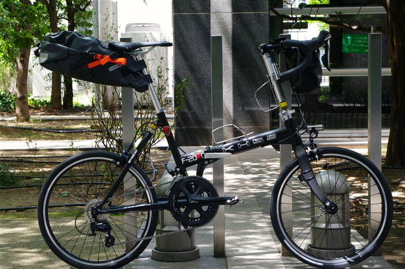 KHS / F-20RC + ORTLIEB BIKE PACKING