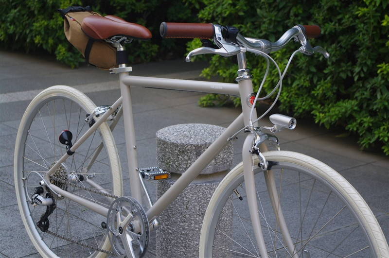 tokyobike 26 IVORY +IVORYタイヤ+TIMTAS+REC