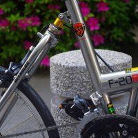 khs F-20R 折畳み自転車