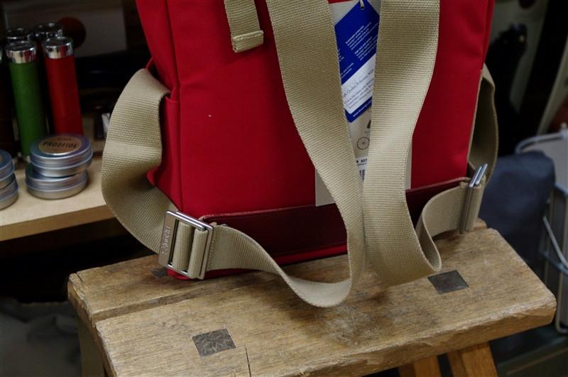 brooks hackney red バックパック