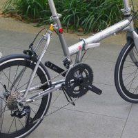 khsの折畳自転車F-20RCのドロップハンドル