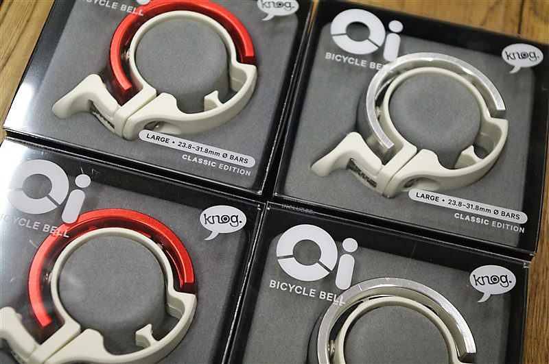 knog Oi limited white