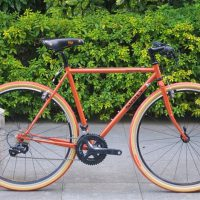 surly cross-check フラットバー
