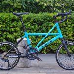 tyrellの折畳自転車fsxの横画像