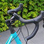 tyrellの折畳自転車fsxのハンドル後ろ画像
