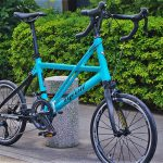 tyrellの折畳自転車fsxの斜め前画像