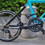 tyrellの折畳自転車fsxのリアメカ画像