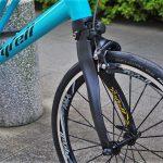 tyrellの折畳自転車fsxのフロンフォーク画像