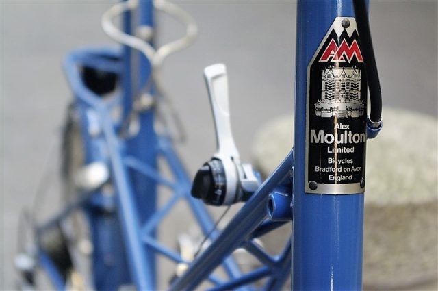 alexmoulton AM16の画像レバー