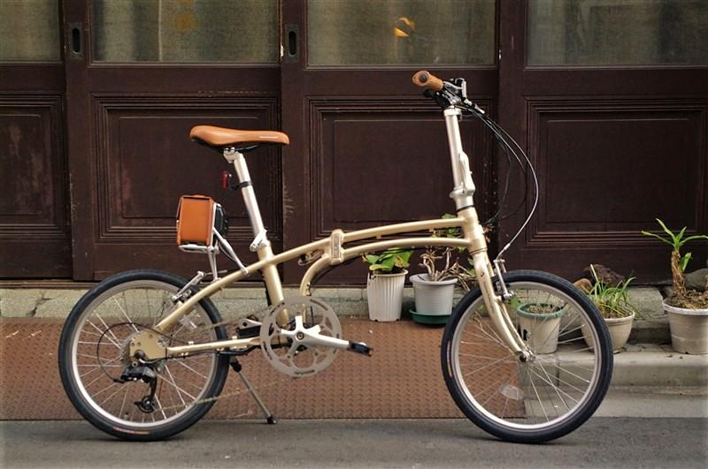 デイトナの電動アシスト折畳自転車の画像6