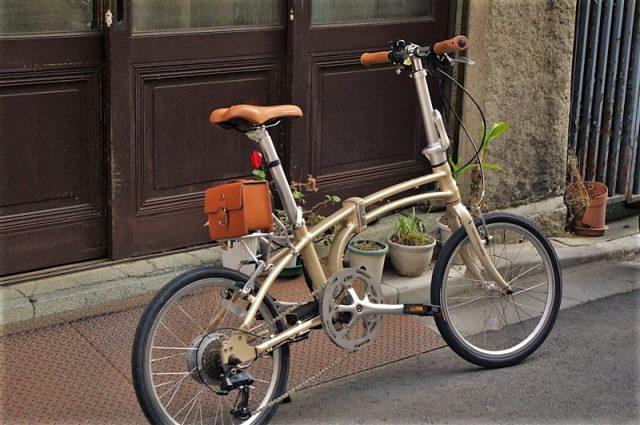 デイトナの電動アシスト折畳自転車の画像3