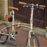 デイトナの電動アシスト折畳自転車の画像5