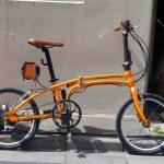 デイトナDE01s電動アシスト自転車の画像