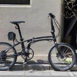 デイトナDE01X電動アシスト自転車の画像
