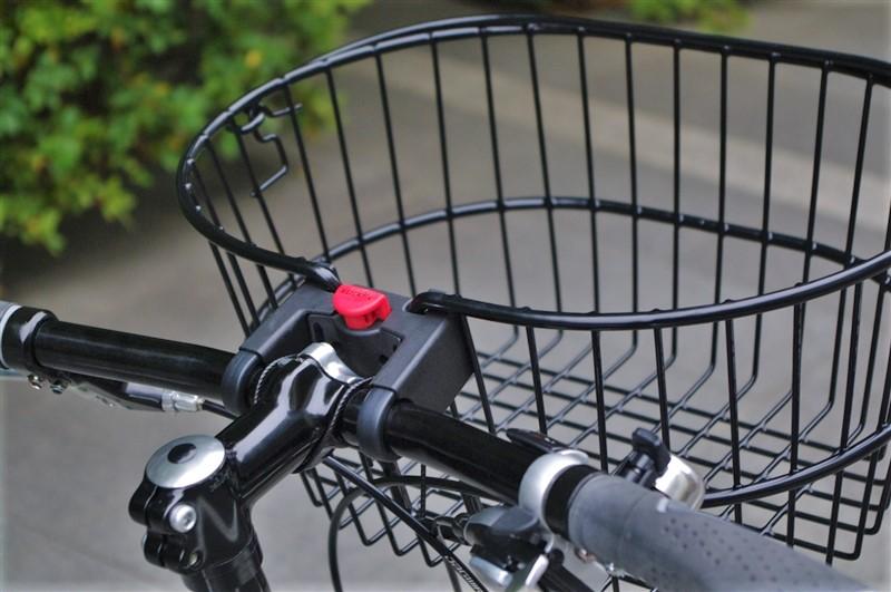 カゴ 取り外し 自転車