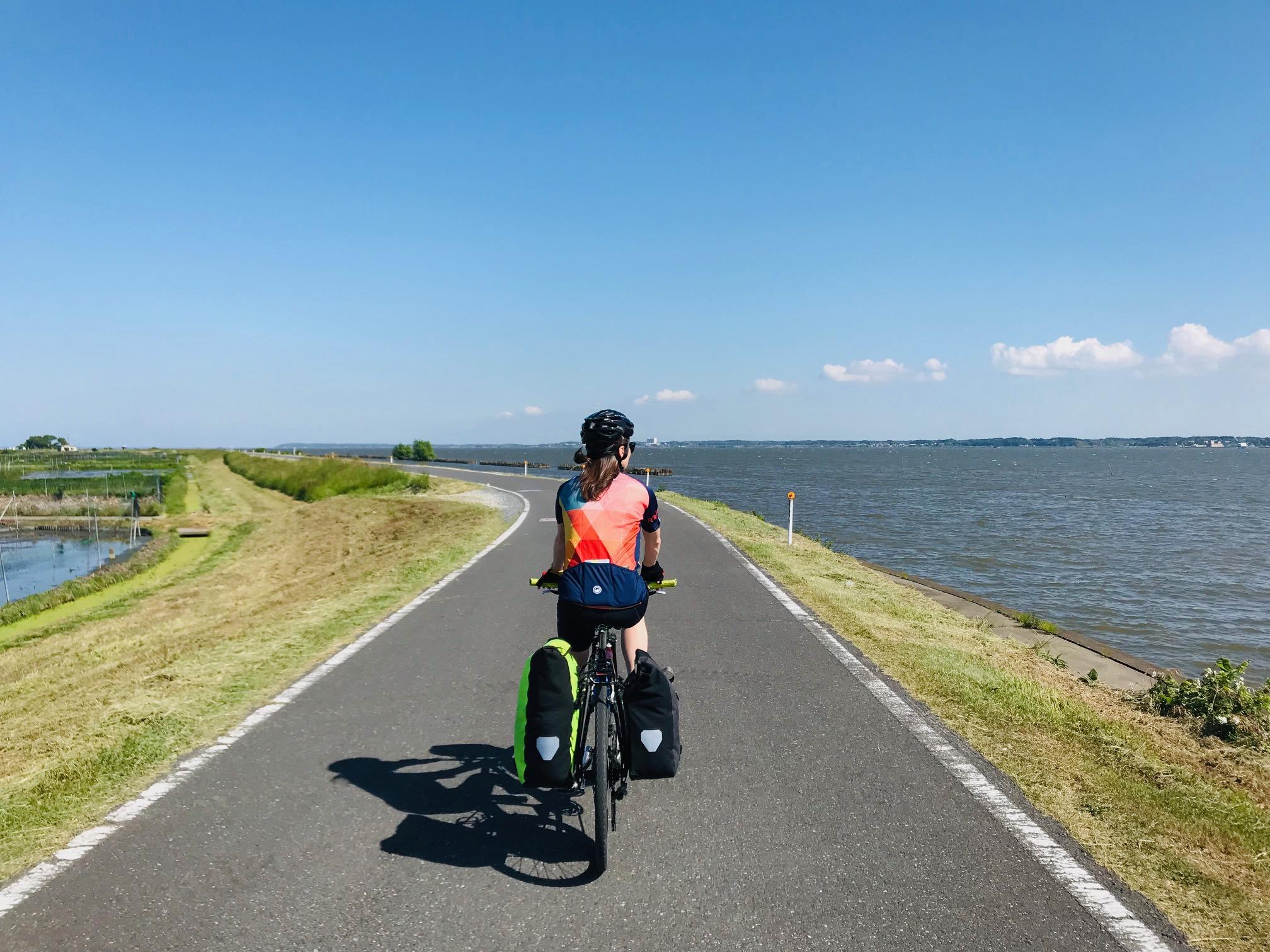 サイクリストの肩身が広い駅、土浦。