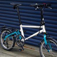 タイレルの折畳自転車IVEの画像