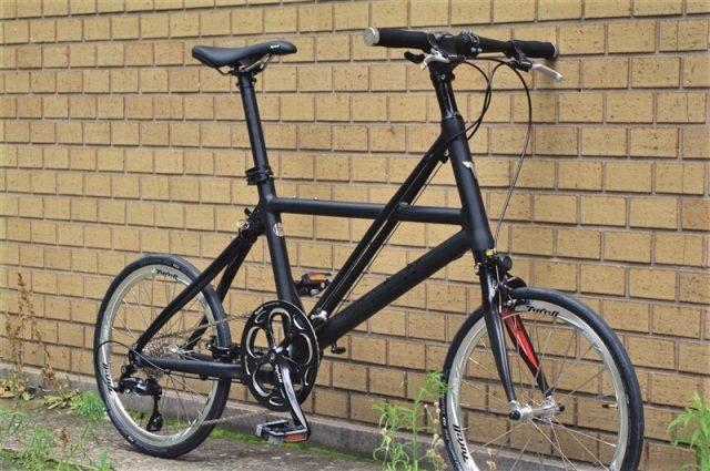 タイレルの折畳自転車FXαの画像