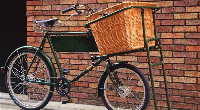 ディスプレイバイクの象徴的イメージ  Pashley Delibike