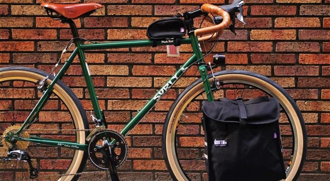 SURLY PACKRATにNORTHst グロッサリーパニア =バッグにもTPOを=